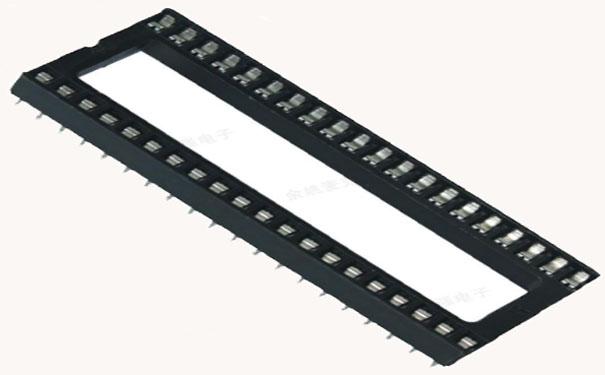 图2-扁孔IC插座