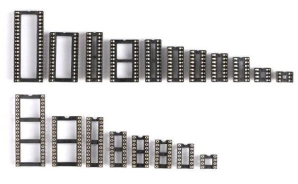 图3-扁孔IC插座